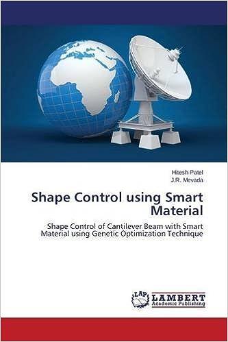 Book Shape Control using Smart Material: Shape Control of Cantilever Beam with Smart Material using Genetic Optimization Technique