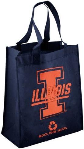 FOCO NCAA Unisex-Adult 2010 Non-Woven Polypropylene Reusable Grocery Tote Bag