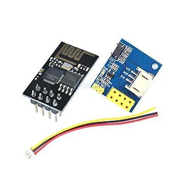 Amazon.com: ESP8266 ESP01 ESP-01 WS2812 RGB - Módulo ...