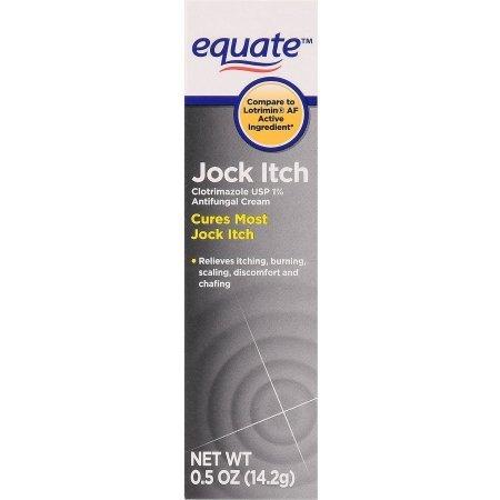 Equate Jock Itch Antifungal Cream, 0.5 Oz, Pack of 3