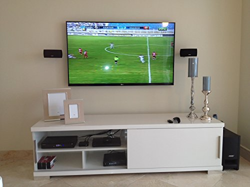 TV Wall Mounting - 51-65 inches, Customer Bracket, Cords Concealed In Wall