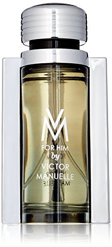 Victor Manuelle Vm Eau de Toilette Spray for Men, 3.4 Ounce