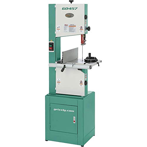 - Grizzly G0457 Deluxe Bandsaw, 14