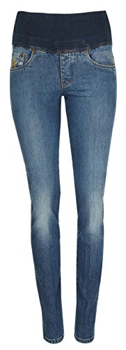 European Culture Damen Jeans Blau 08AU4121-0500YD, size:XS
