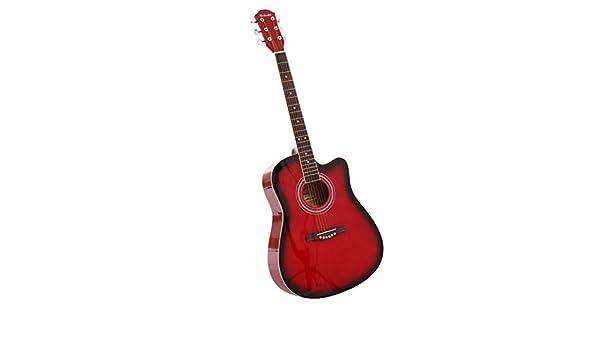 Guitarra acústica, Cutaway Guitarra de viaje: Amazon.es ...