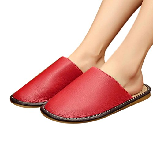Femme Women Red Chaussons pour TELLW ERw6qY7
