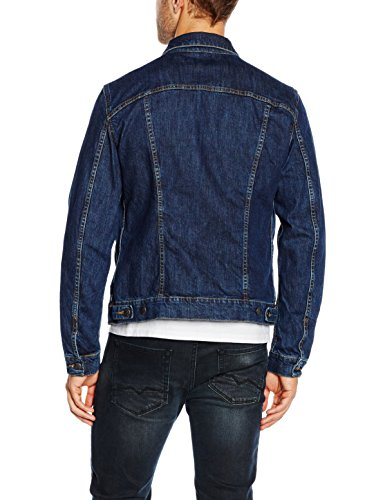 Stone Hombre Carrera Stretch 700 Denim Washed para Chaqueta Azul xI0OIz