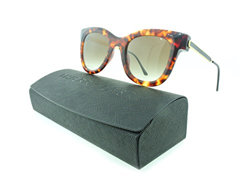 Thierry Lasry Nudity Aviator Sunglasses Composite Frames (Tortoise Shell, Gradient - Tortoise Aviator Sunglasses Shell