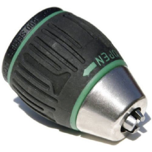 Jacobs 31048 6000-Series 1/2-Inch Soft Grip Sleeve Keyless Drill Chuck with 1/2 to 20 Threaded Mount