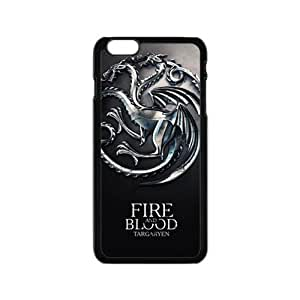 Happy Fire Blood Cell Phone Case for Iphone 6