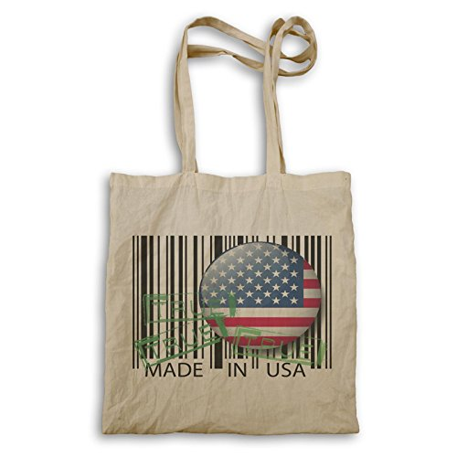 Made In Usa Codice A Barre True Funny Gift Carrying Bag D602r