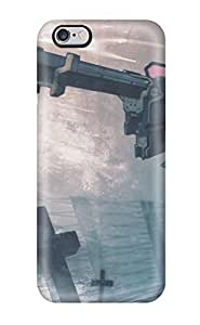 New Arrival Cover Case With Nice Design For HTC One M7- Black Rock Shooter Anime