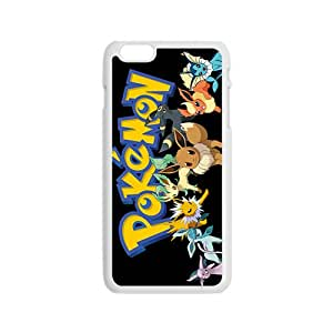 Anime cartoon Pokemon durable Cell Phone Case for Iphone 6