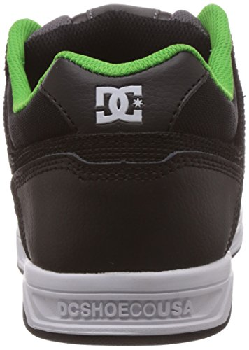 DC Green Uomo Shoes Sneaker STAG Nero Black Grey qxfzvqwnAr