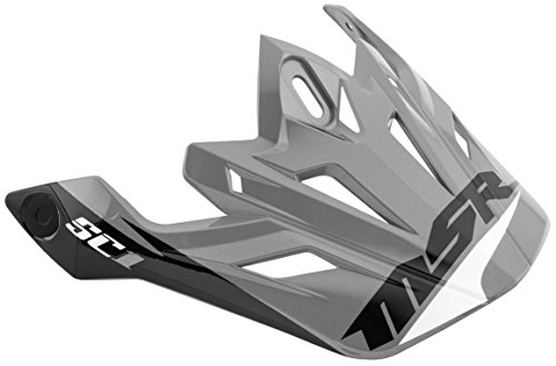 (MSR Visor for SC1 Helmet - White/Black/Silver)
