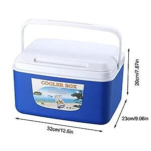 Goodtimera - Nevera portátil para Coche, Caja de Pesca de 8 litros ...