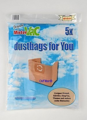 10x Bolsas de aspiradora bolsas para polvo-Aspiradora (Lux ...