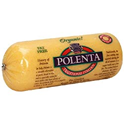 Food Merchants Organic Polenta, Traditional, 18 Ounce (Pack Of 12)