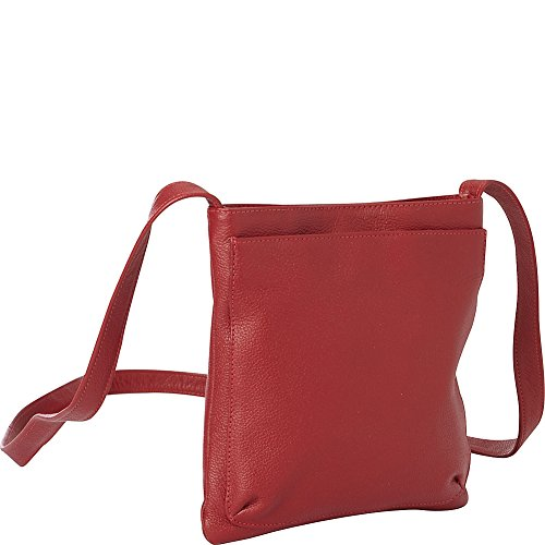 Leather Bag Crossbody Mini Red Piel 0qTE7wx