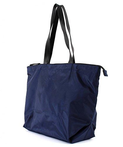 Esprit Damen Handtasche Tasche Shopper Cleo Shopper Blau 028EA1O006-E400