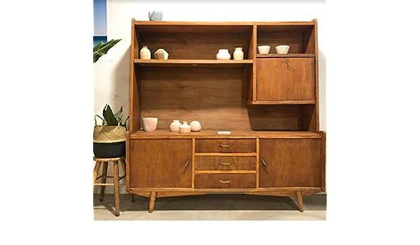 Mueble Tv Vintage, mueble aparador madera de fresno y haya. Ideal ...