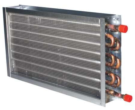 Heating Coil, 375cfm, 0.9gpm, 4x8x14'' by PRECISION COILS