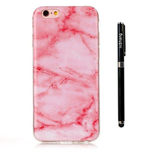 """inShang funda para Apple iPhone 6 iPhone 6S 4.7"""" funda del teléfono móvil, anti deslizamiento, ultra delgado y ligero, Estuche, Cubierta, carcasa suave hecho en el material de la TPU, cómodo Case Cove light pink"""