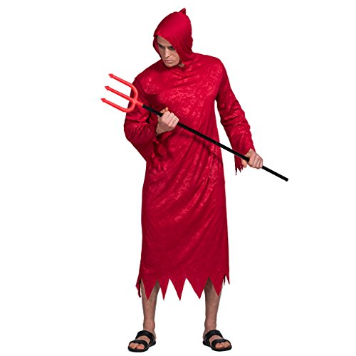 Men's  Handsome Red Devil Costume