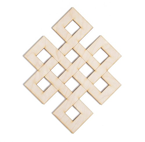 Fourth Level Mfg. Designs, Infinity Knot Wooden Wall Art 12