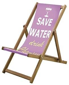 Nuevo Rosa ahorrar agua cubierta silla diseño playa vacaciones viaje 3posiciones Lazy Days