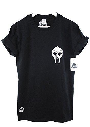 Actual Fact MF DOOM Abzeichen Logo Schwarz Urban Hip Hop Premium T-Shirt