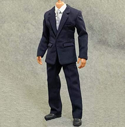 "1//6 Scale Men/'s Suits for 12/"" Male Hot Toys Action Figure Body"