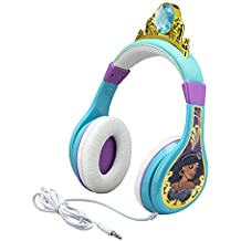 Kids Headphones for Kids Disney Aladdin Adjustable Stereo Tangle-Free 3.5mm Jack Wired Cord Over Ear Headset for Children Parental Volume Control Kid Friendly Safe Great for School Home Travel