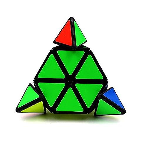 Triangle Pyramid Pyraminx Magic Cube Speed Puzzle - Plastic Photo Cube