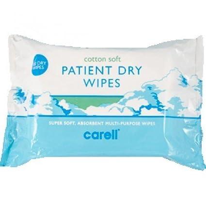 Carell Suave Paciente Dry Toallitas, 100 Toallitas