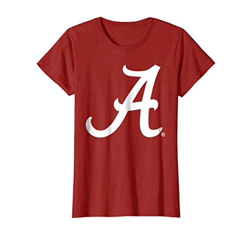 Womens Alabama Crimson Tide Cute Women's NCAA T-Shirt C16BH06 Large Cranberry