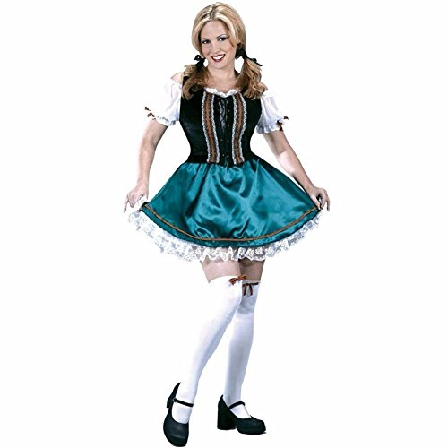 Gretel Octoberfest German Woman Costume Size M/L (8-14) (Adult Gretel Costume)
