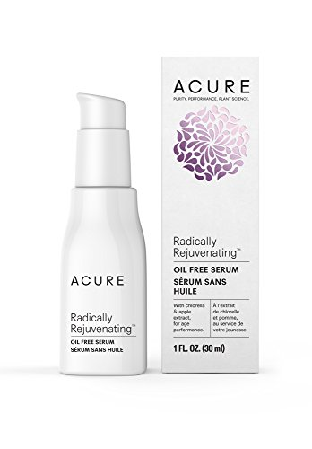 Acure Radically Rejuvenating Oil Free Serum, 1 Fluid Ounce (Packaging May Vary)