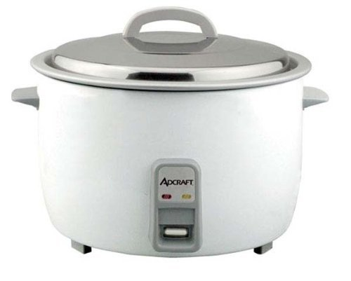 Adcraft Countertop Heavy Duty Rice Cooker, 25 Cup Capacity -- 1 each. by Adcraft