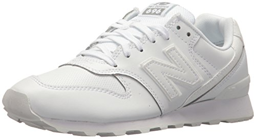 New Balance Women 696 v1 Sneaker Metallic Silver/White