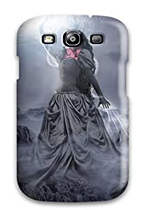 Premium Protection Fantasy Girl 8 Case Cover For Galaxy S3- Retail Packaging