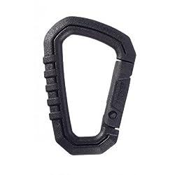 Asp Polymer Carabiner, Black