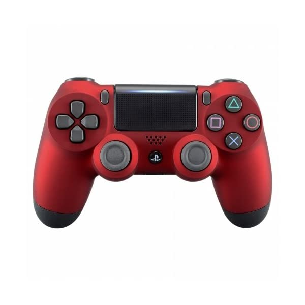 OC Gaming PS4 Dualshock Playstation 4 Wireless Controller Custom Soft Touch New Model JDM-040 (Red) 1