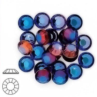 34ss Crystal (MERIDIAN BLUE HOTFIX SWAROVSKI Rhinestone Crystal 34ss)