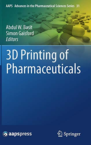 3D Printing of Pharmaceuticals Front Cover