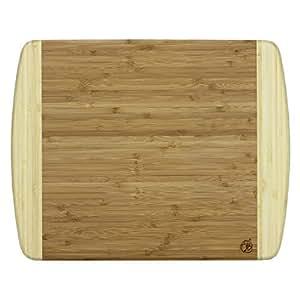 Totally Bamboo 20 1200 Kauai Bamboo Serving Cutting Board 14 X 115 Kauai 14 X 11 12