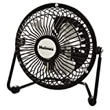 * Mini High Velocity Personal Fan, One Speed, Black
