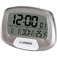 Mack Mct-9135 Gr Dijital Masa Saati, Gri
