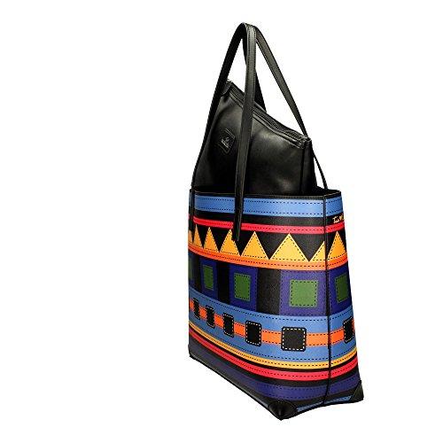 Braccialini , Sac pour femme à porter à l'épaule multicolore
