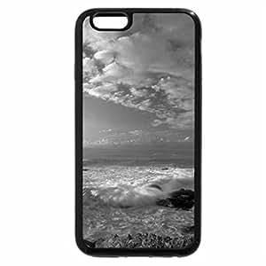 iPhone 6S Case, iPhone 6 Case (Black & White) - Coasting to Eternity Near Big Sur, California
